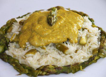 Riso Basmati agli Asparagi con Crema al Curry