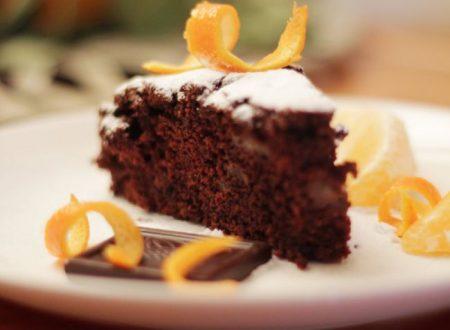 Torta Invernale Cioccolato e Arancia